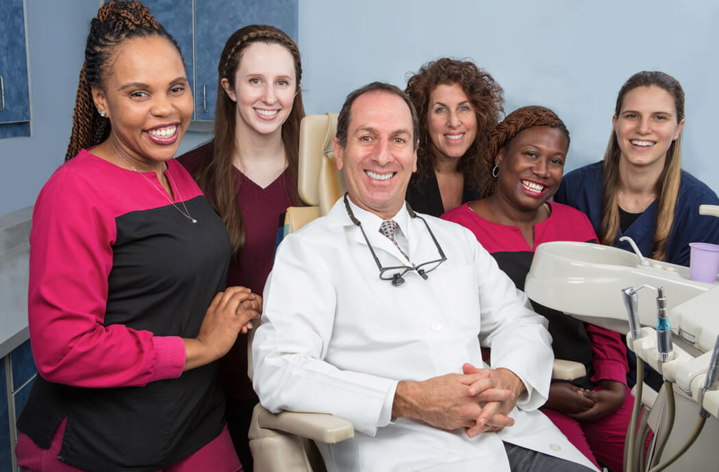 Keith F. Silverman D.M.D. and his friendly staff of dental hygienists and assistants